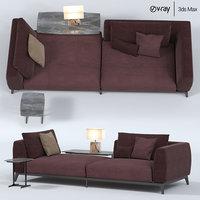 3D flou olivier sofa