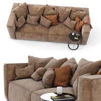 3D mags soft sofa sectional model