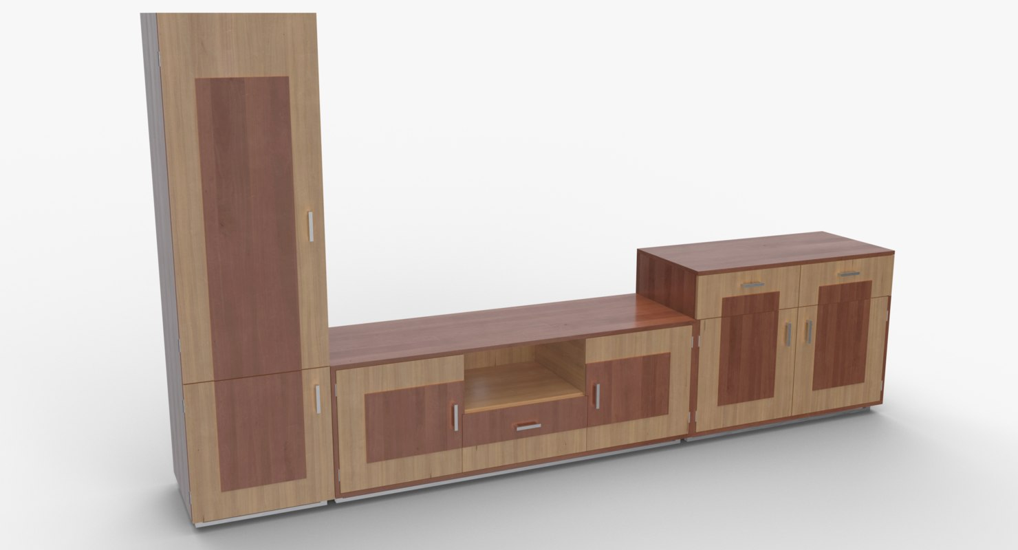 3D tv stand 51