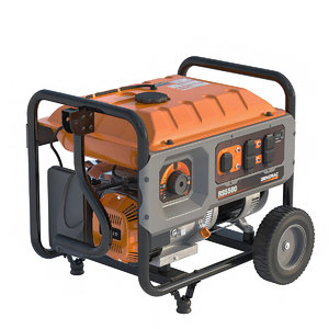 3D portable generator model