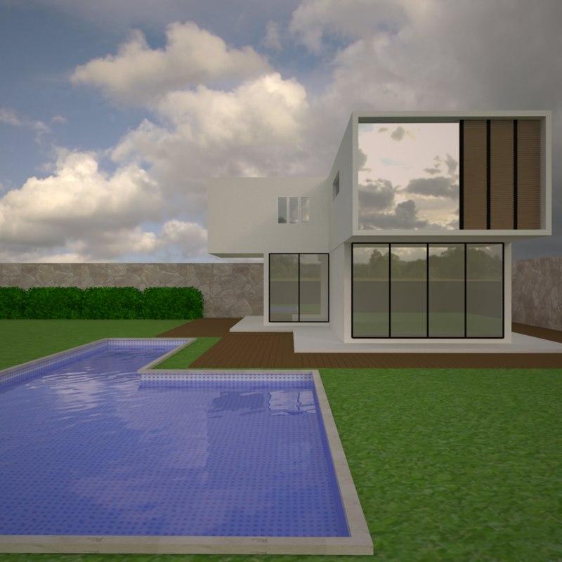 villa home 3D