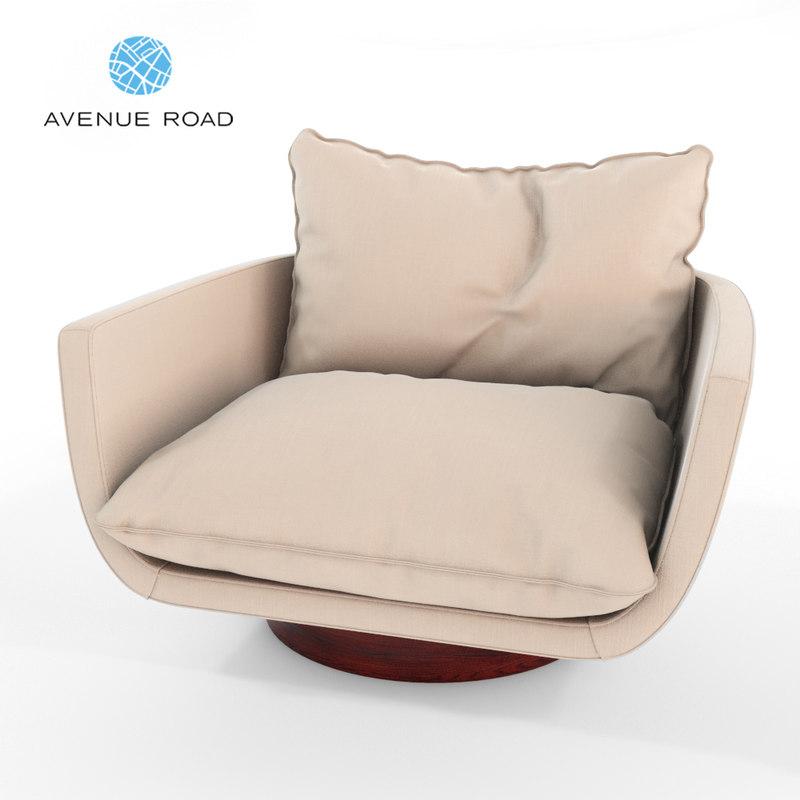 rua ipanema lounge chair model