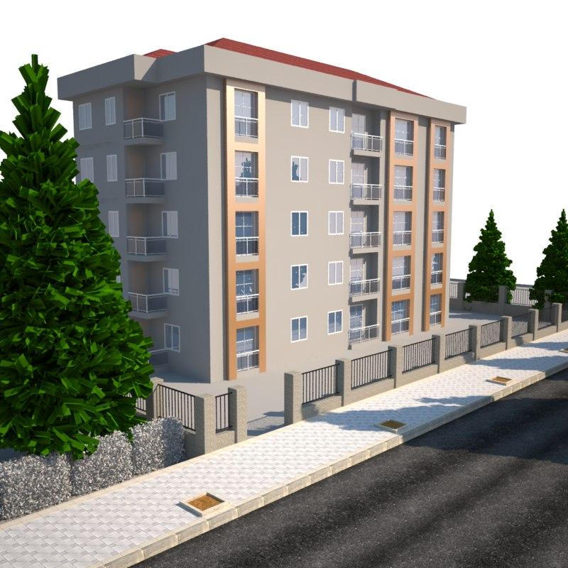 3D home modeled model
