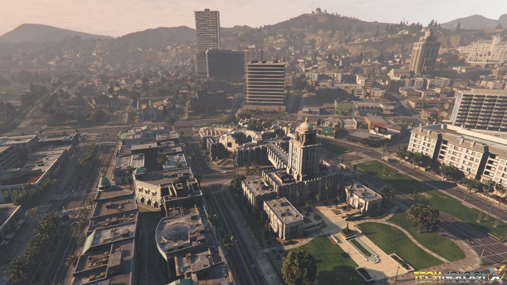 3D gta 5 city model