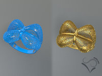 Golden ring 3D print model