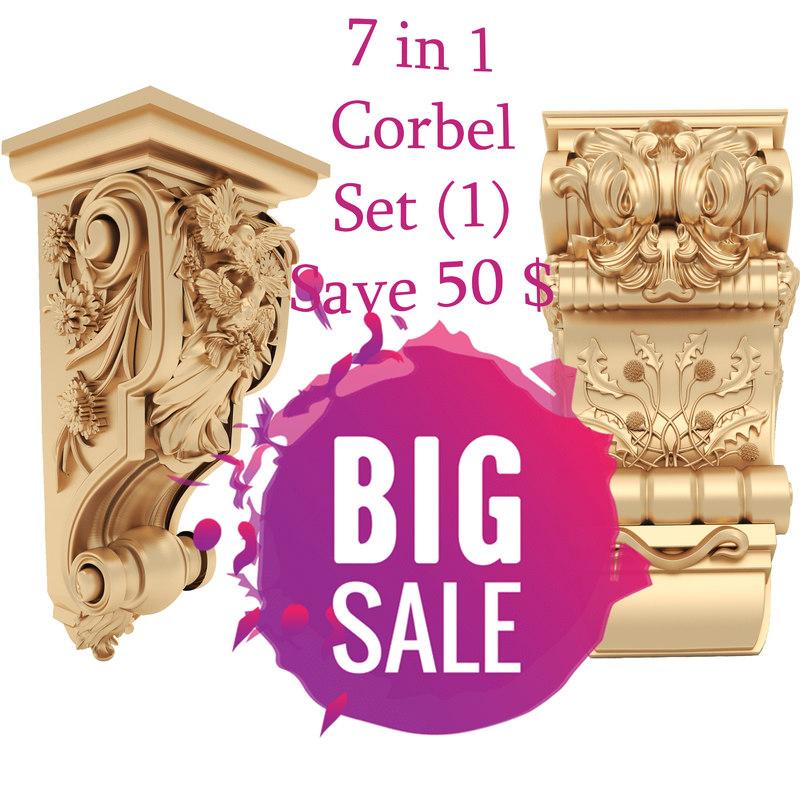 column set 7 corbel model
