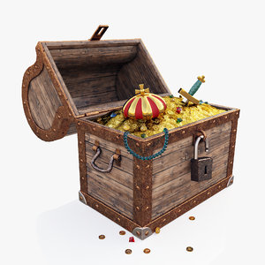 treasures chest 3D model