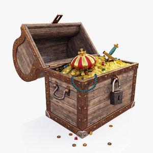 treasures chest 3D model