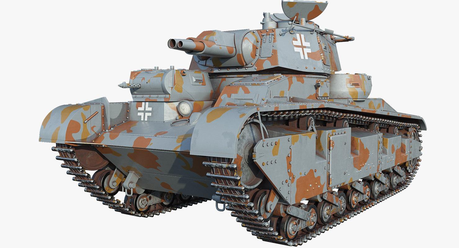 3D model nr 3-5 neubaufahrzeug