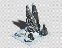cave stone model