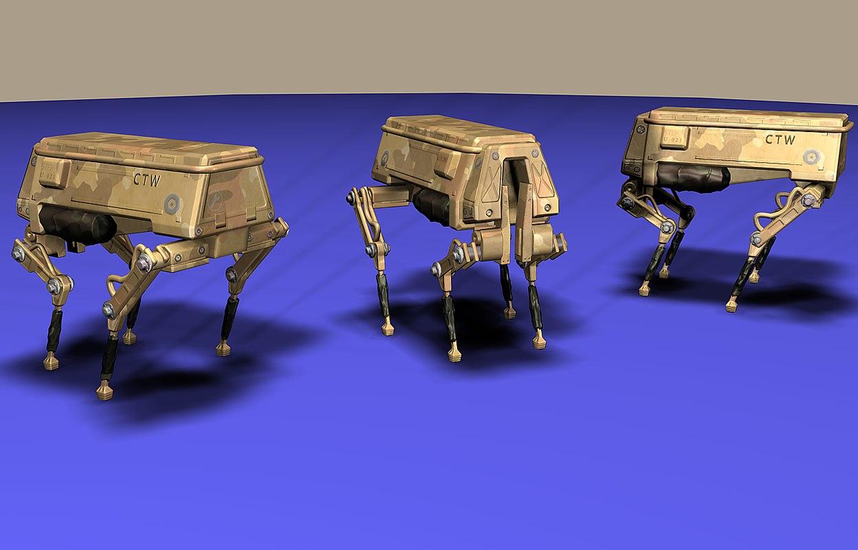 3D model mecha