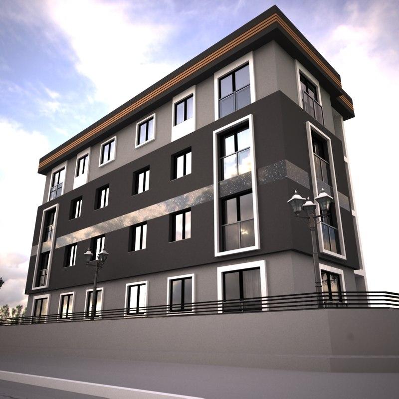 3D model home modeled