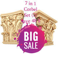 column set 7 corbel 3D model