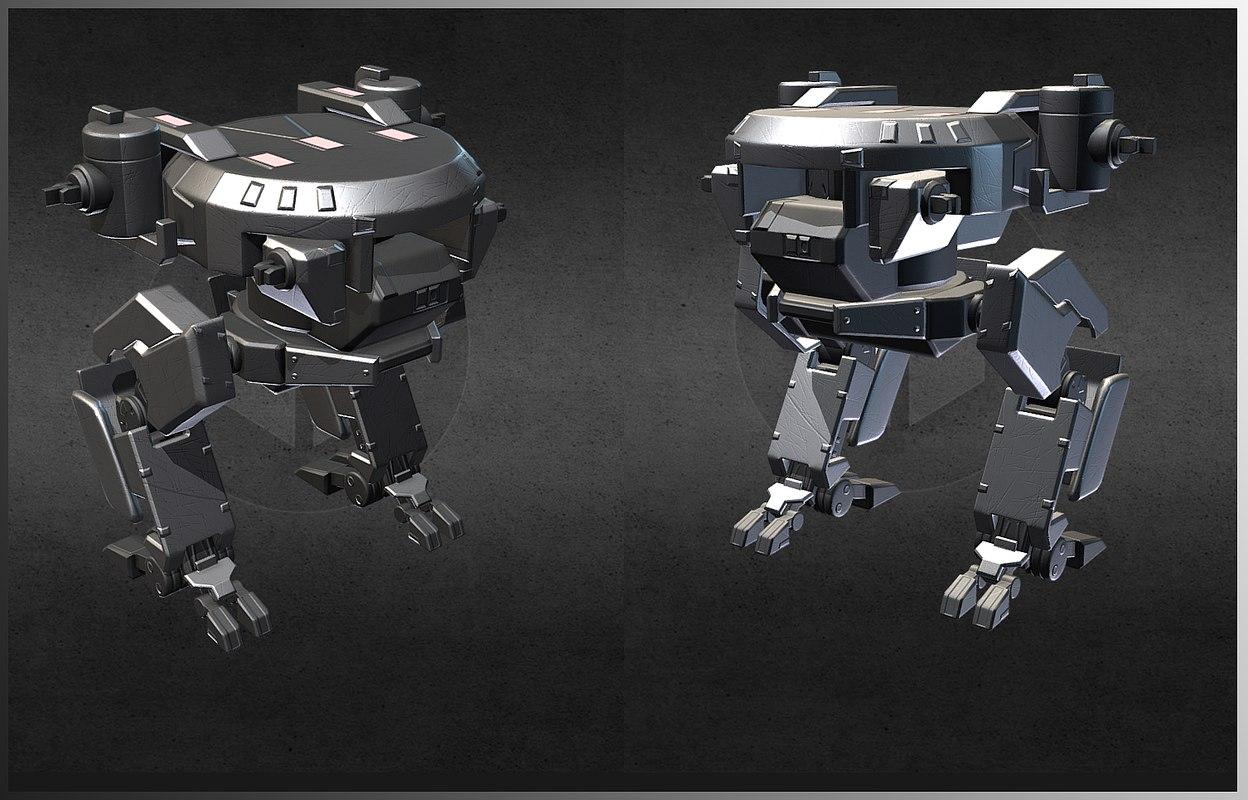 assault mecha 3D model