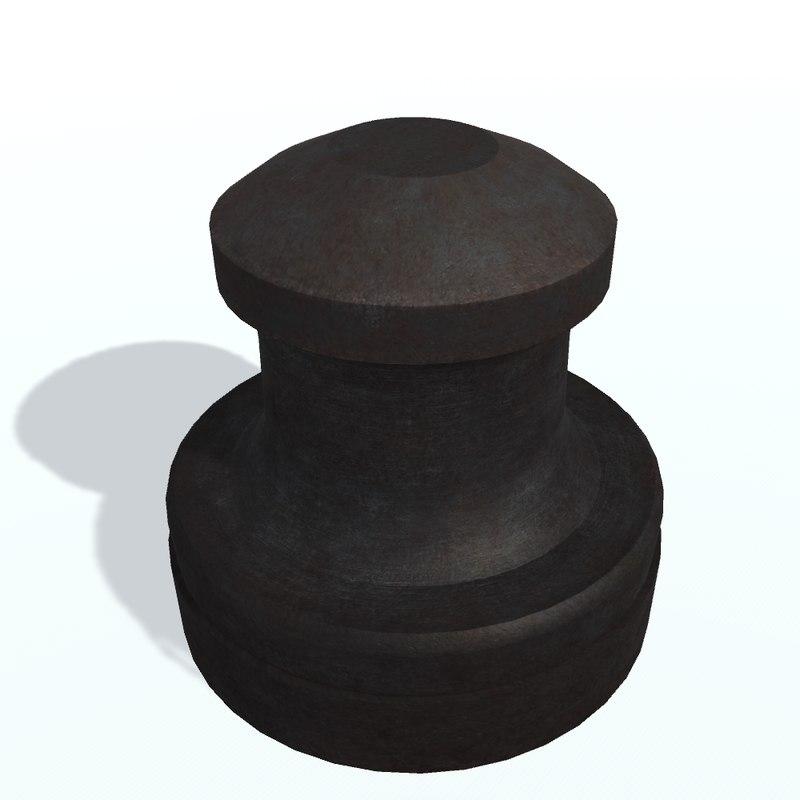 bitt c 3D model
