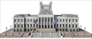 3D model palace uruguay