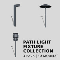 3D path light fixture