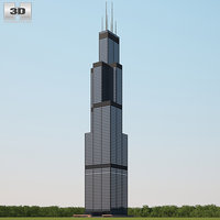 willis tower model