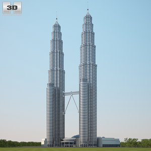 petronas twin towers model