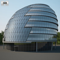 3D city hall london