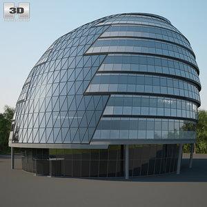 3D city hall london