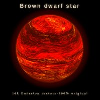 brown dwarf star planet 3D