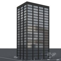 office tower 3D