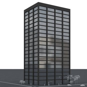 office tower 3D