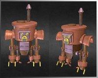 steambot 3D model