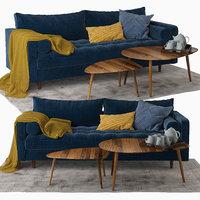 sven sofa 3D model