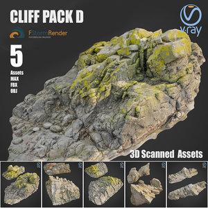 cliff pack d model