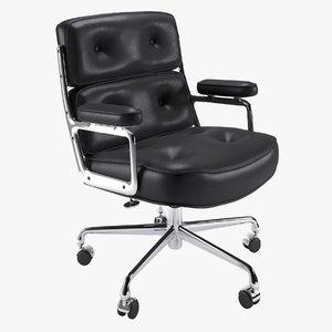 3D chair herman miller model