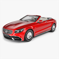 mercedes maybach coupe cabriolet 3D model