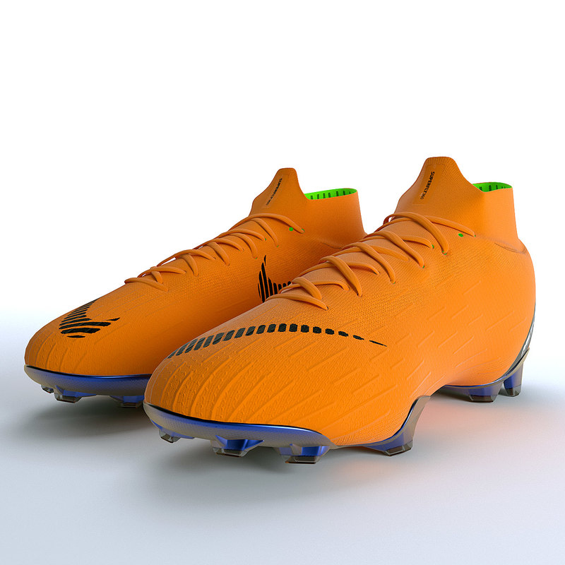 3D nike mercurial superfly 360 model