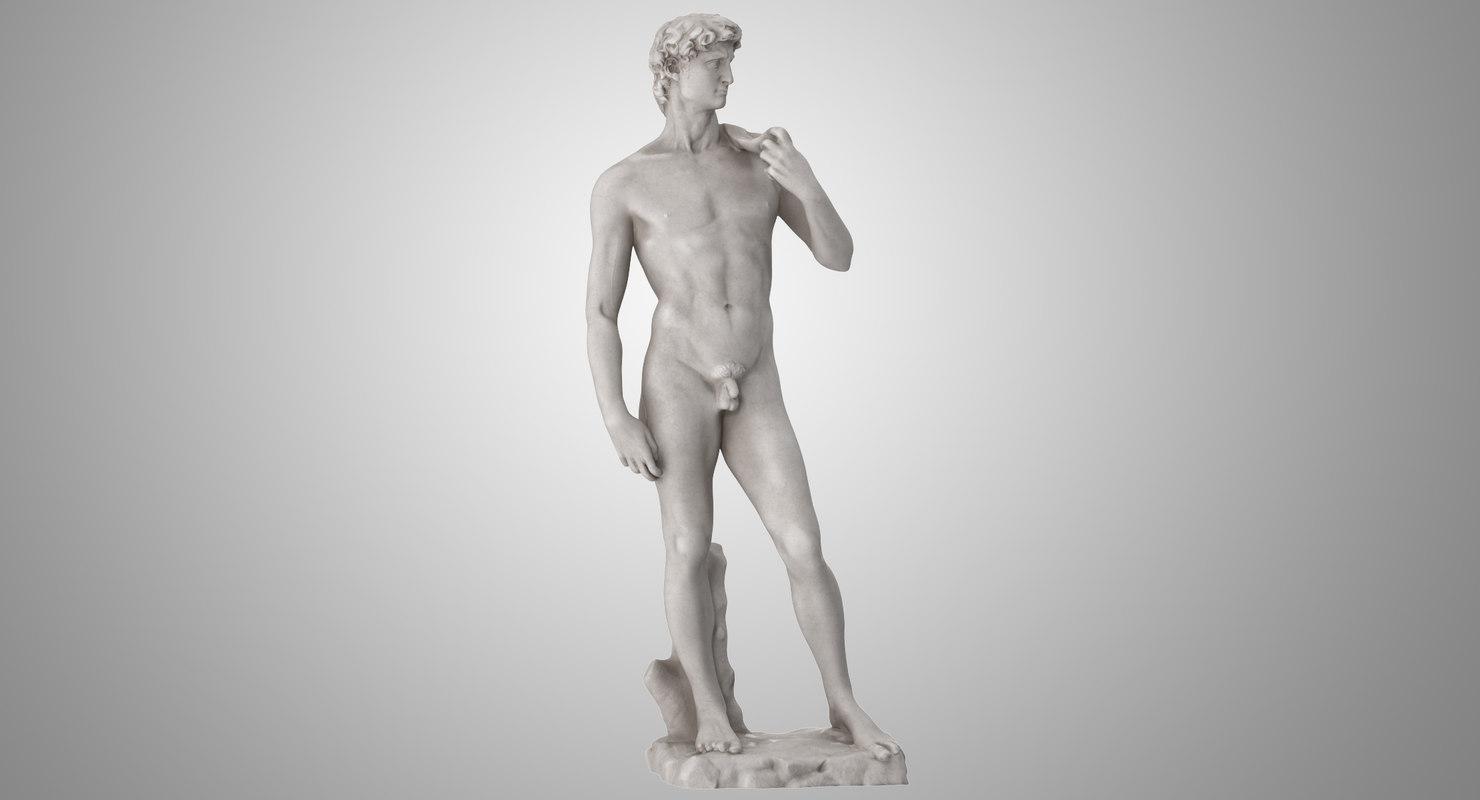 david sculpture 3D model