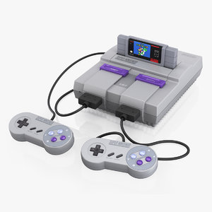 super nintendo snes model