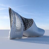 Futuristic building 5