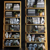 3D shelving decor set