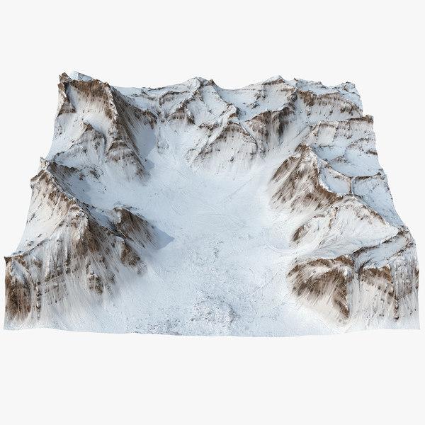 biafo glacier 3D