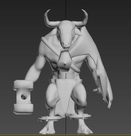 monster creature model