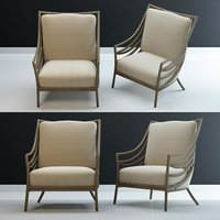 3D model crescent-lounge-chair