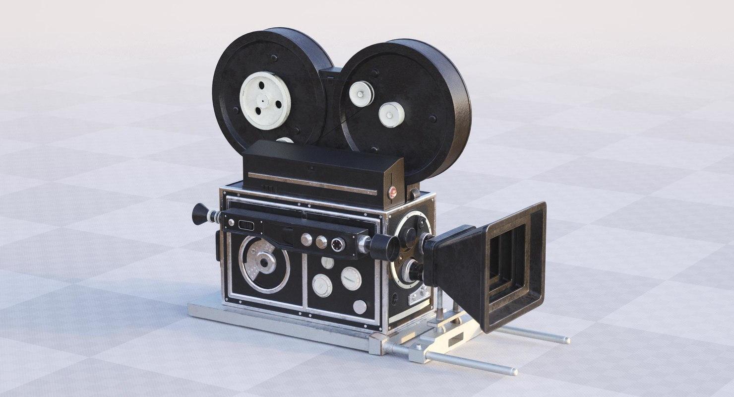 retro camera model