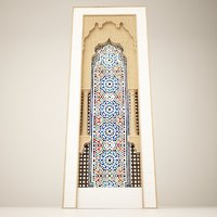 3D islamic arch