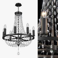 chandelier 744088 castello lightstar 3D model