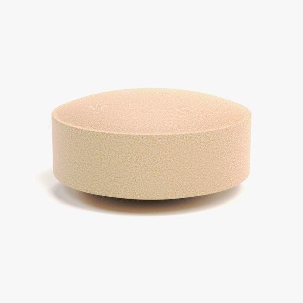 3D pill tablet pbr