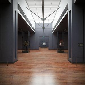 art gallery 3D