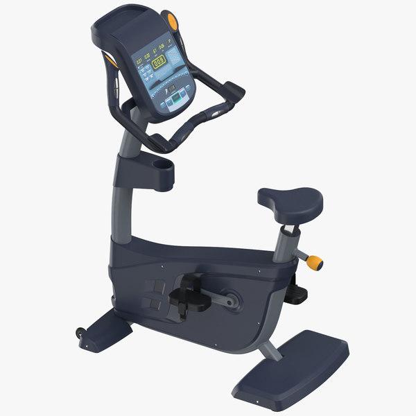 cardio machine upright bike 3D model