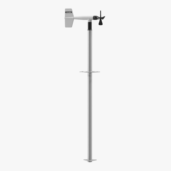 3D model wind direction sensor