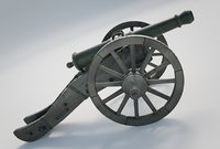 Heavy French Field Cannon