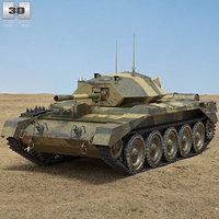 crusader mk iii 3D model